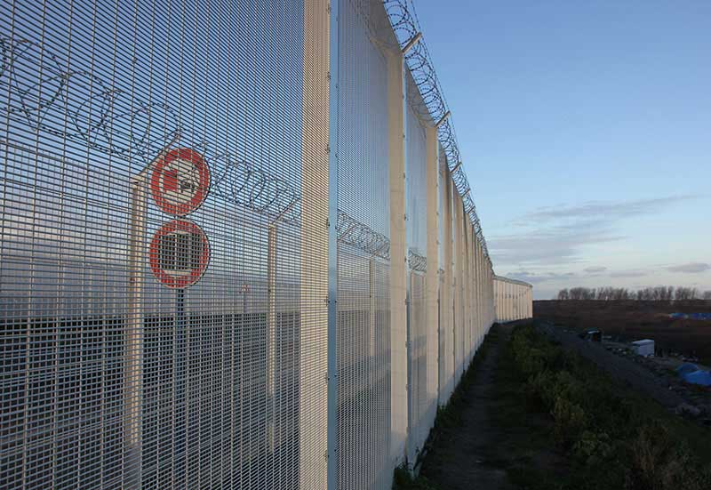 Border Control Fence Image