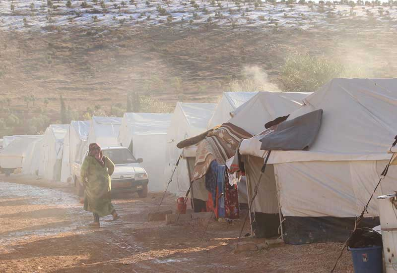 Refugee Camp Image